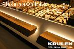 Oprawy LED do regałów piekarniczych