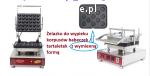 Nowe żelazka do wypieku korpusów tartaletek / orzeszków